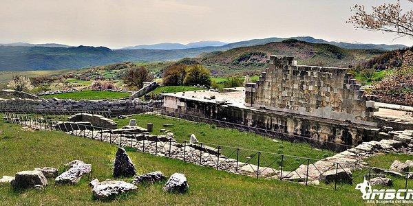 Santuario di Pietrabbondante, panorama