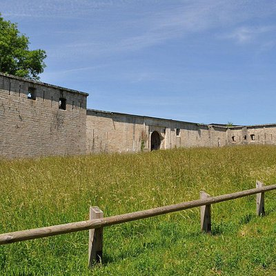 L'entrée du Fort Chaudanne