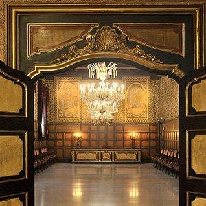 Sala Gremial desde la biblioteca