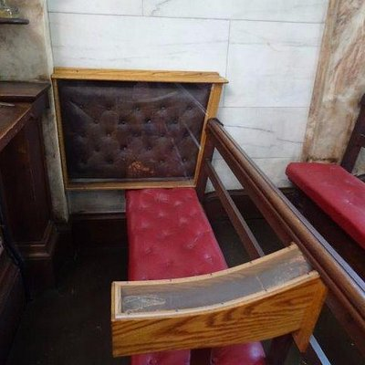 The seat of Lady Judith Montefiore in their own shul