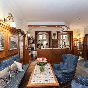 Lobby at the Hotel Blauer Bock
