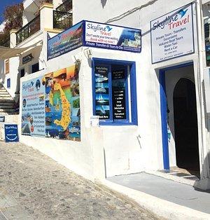 santorini skyline travel agency
