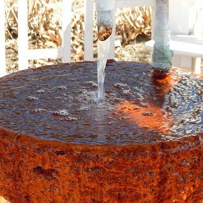 Healing, natural mineral spring