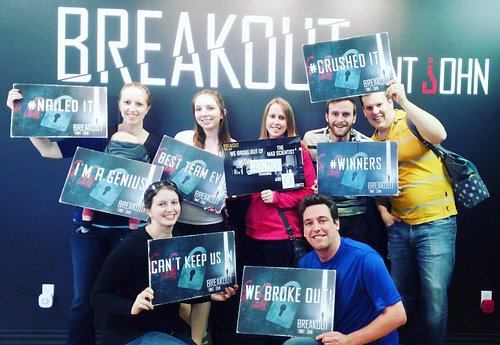 Second visit to Breakout SJ in April 2016. We crushed it and broke out with 24 mins to spare!