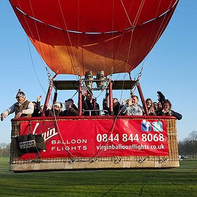 York balloon ride passengers go up, up and away.