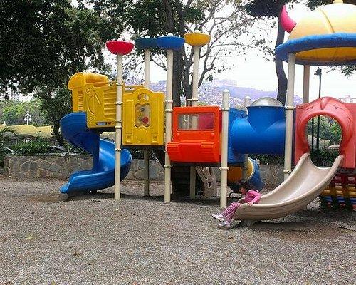 Esta es una de las atracciones para niños pequeños que se encuentran en este parque
