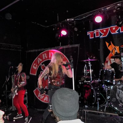 Noise Level's Critical - Tigertailz in full flow at The Globe