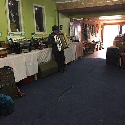 Hermoso museo del acordeon