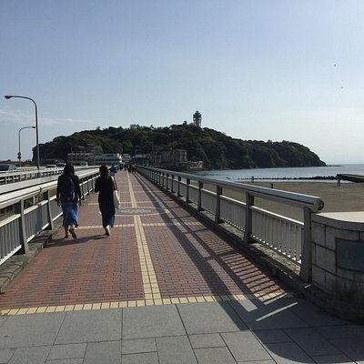 Going back to main land after a day at enoshima