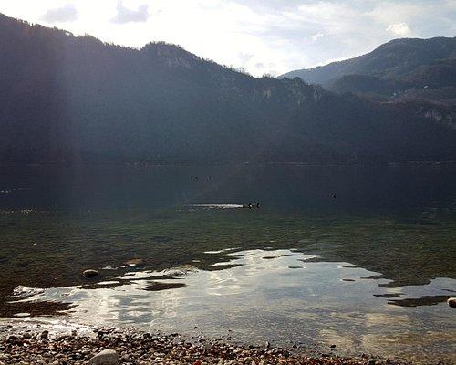 Lago visto dalla Spiaggia.