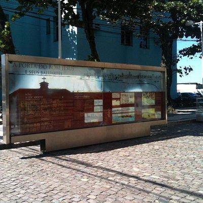 Mural com histórico