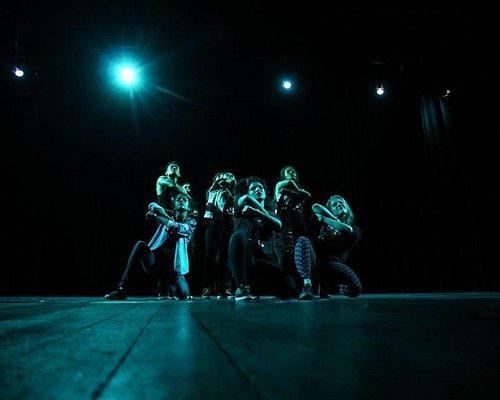 Foto da Union Dance Company(grupo da minha noiva Amanda Castro) no Teatro Municipal de Itajaí