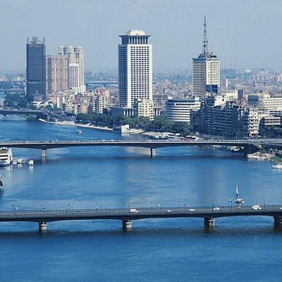 Cairo with  great view to the River Nile