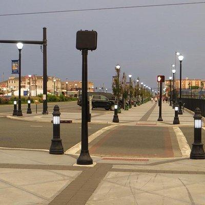 Belle promenade en ville, l'air est bon et c'est propre!