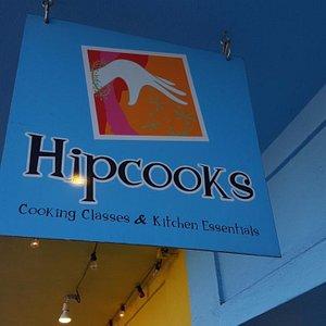 Hipcooks Entrance Sign