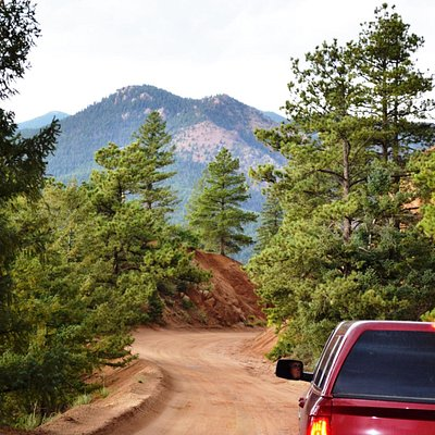 Not very far from Gold Camp Brewery is Gold Camp Road with breath taking views of the mountains