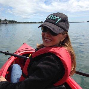 Kayaking with Bob