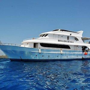 "Our daily boat ""Khaled Safaga"""