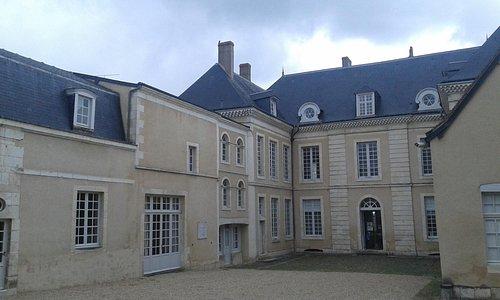 La cour d'honneur du Musée-Maison Bertrand