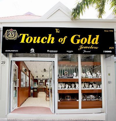 Touch of Gold Jewelers ~ Proudly celebrating our 25th Anniversary.