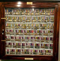 Military Medal Display