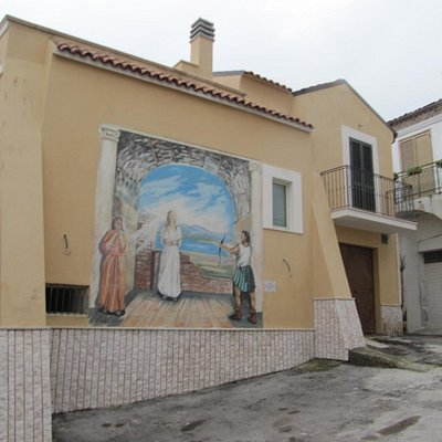 Campomarino - Fresque murale
