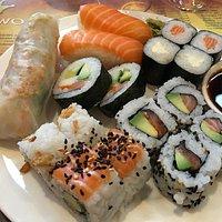 Des maki et sushi vraiment délicieux