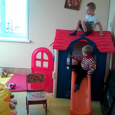 детская комната на 1-м этаже