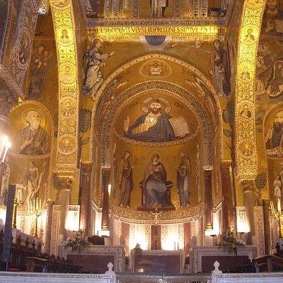 Palatine Church showing Byzantine influence