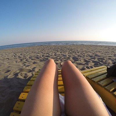 Ada Bojana relaxing