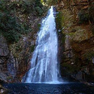 落差32mの豪快な滝でした