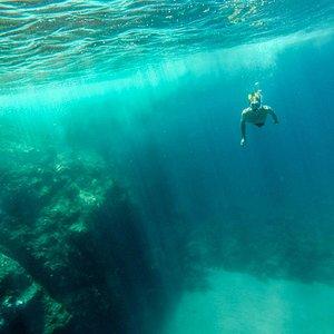 Snorkelling en Los Caletones