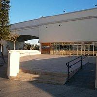 Oficina de Turismo Ceuta, vista frontal.