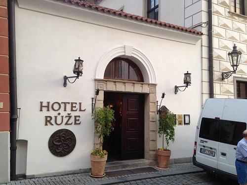 Prague to hotel Růže Český Krumlov
