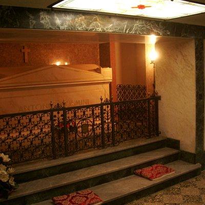 Место захоронения Розмини