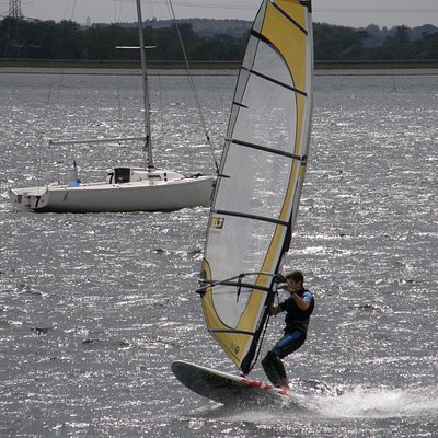 Windsurfing at Queen Mary