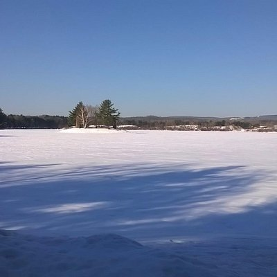 Dunning Lake During February