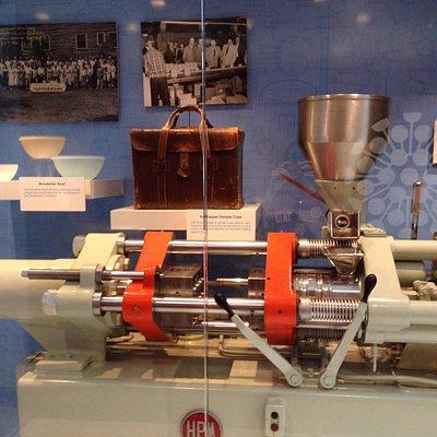 As old Tupperware machine