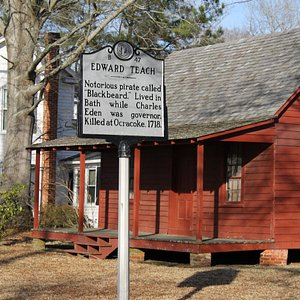 Bath, NC is included in the tour -- former home of Blackbeard!