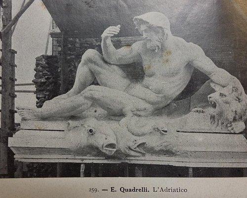 scultura in documento dell'epoca