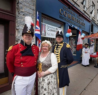 Welcome to General Brock's Commissary! Come enjoy a Taste of Upper Canada and great LOCAL flavou