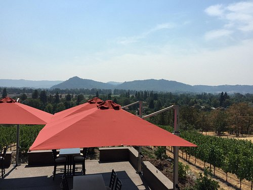 Gorgeous vistas, great wine