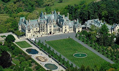 The Biltmore Estate in Asheville, NC