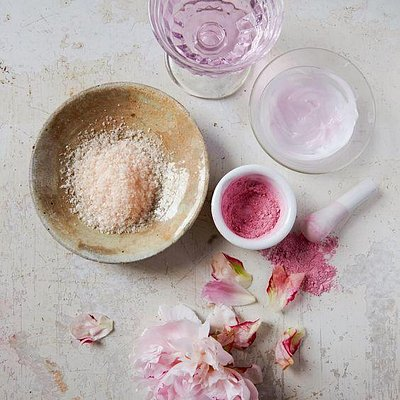Wine Spa Treatments In Pink