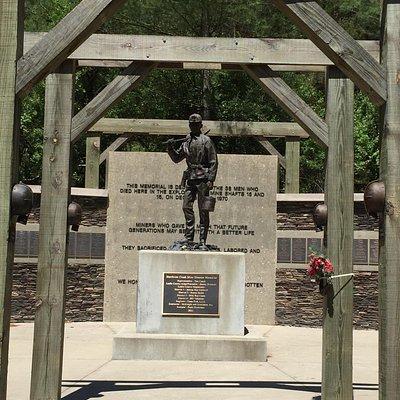 Hurricane Creek Mine Disaster Memorial