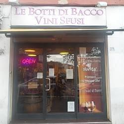 Le Botti di Bacco, entrata della meglio bottiglieria di Monteverde!