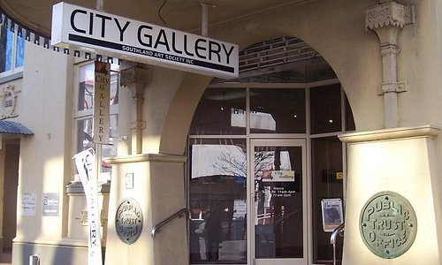 City Gallery entrance off Don St, Invercargill
