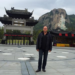 At the entrance to Impression Putuo