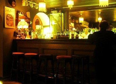 Bar Room Lit Up for a Change