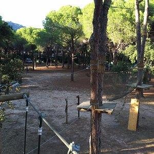 Un percorso del parco